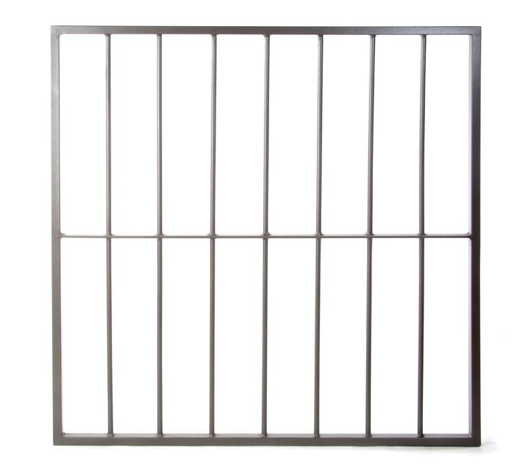Profain venta de rejas para ventanas y puertas a medida for Rejas de hierro precios