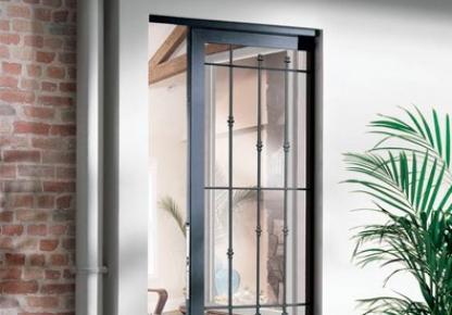 Profain venta de rejas para ventanas y puertas a medida - Rejas correderas para puertas ...